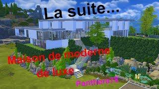 Sims4=4ième partit de cette maison moderne de luxe