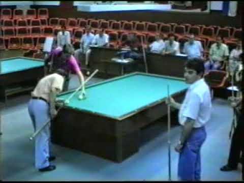 BILLAR A TRES BANDAS Video 1 Curso de Boulanger Madrid 1995