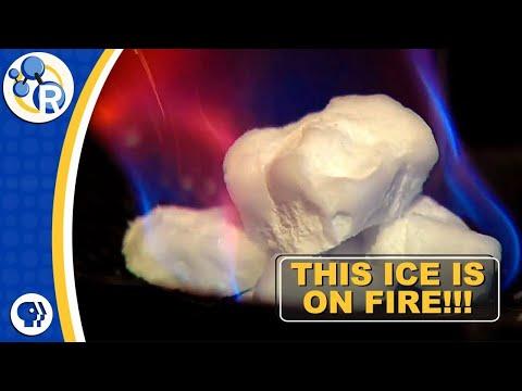 Burning Ice from the Ocean Floor