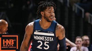 Houston Rockets vs Minnesota Timberwolves Full Game Highlights / Game 3 / 2018 NBA Playoffs