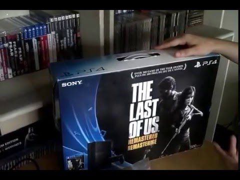 Unboxing Ps4 The Last Of Us Remastered Bundle Serie