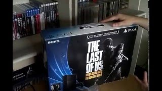 UNBOXING: PS4 - The Last Of Us Remastered bundle - Serie 1115