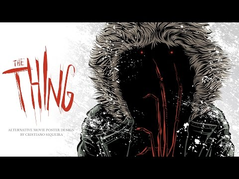 The Thing - Alternative Movie Poster Design