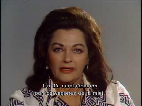 """Yvonne De Carlo recuerda """"La esclava libre"""" (""""Band of Angels"""" memories)"""