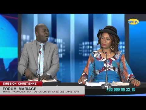 Pourquoi tant de divorces chez les chétiens?  avec  le Bishop  MICHEL  ZABUSU