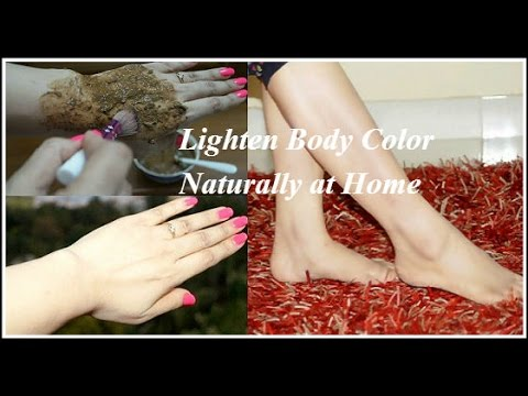 How to ligten body skin colour in 3 days.