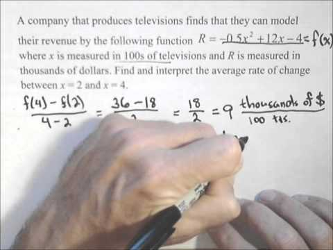 Rate of Change of a Function (with video lessons, worksheets ... Mathway Average Rate Of Change on average value of change, map of average temperature change, seeds of change, percent of change, average growth rate,