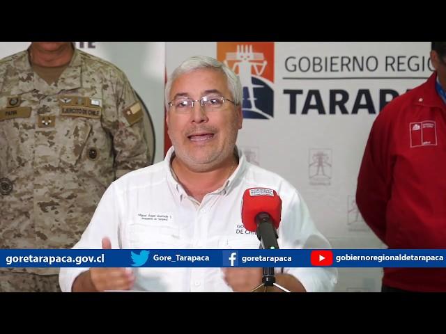 Punto de prensa 27 de marzo de 2020 - Gobierno Regional de Tarapacá