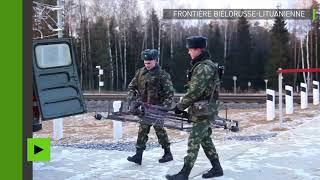 Les systèmes de sécurité biélorusses repèrent un étrange objet à la frontière