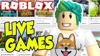 ROBLOX JAILBREAK UFO ALIEN UPDATE & MORE RANDOM GAMES! Roblox LIVE STREAM!