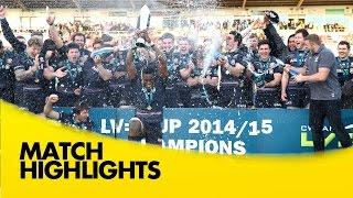 Saracens v Exeter Chiefs - LV= Cup Final