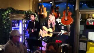 Trout and Parrot singing pony express at the Wine Smith