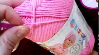 Выбор пряжи для вязания детям. Мои фавориты. Небольшой обзор летней хлопковой пряжи.