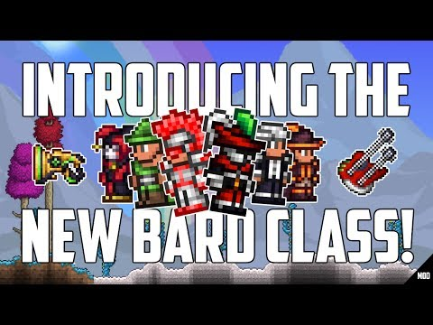 Terraria 1.3.5 Thorium Mod BRAND NEW BARD CLASS! | Everything YOU NEED to know about BARDS! | PC MOD