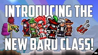 terraria 1.3.5 Thorium Mod BRAND NEW BARD CLASS!  Everything YOU NEED to know about BARDS!  PC MOD