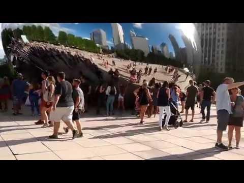 Visiting Chicago - Millennium Park 8/13/2016