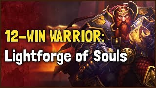 Hearthstone Arena - Witchwood - 12-Win Warrior: Lightforge of Souls