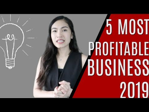 5 MOST PROFITABLE BUSINESS IN THE PHILIPPINES 2019⎮JOYCE YEO