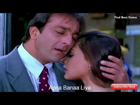 Meri Duniya Hai Tujhme Kahin   Best Hindi Whatsapp Status Video   Sanjay Dutt, Namrata Shirodkar