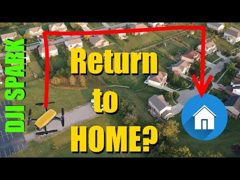 DJI Spark - Return to Home Tutorial