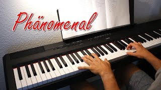 Phänomenal - Pietro Lombardi   Piano Cover by MJMusic