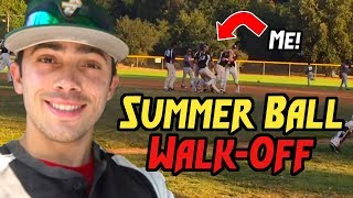 SUMMER BALL GAME DAY (Day in the Life of a College Baseball Player)