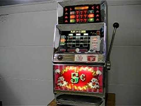 Old Poker Machine For Sale