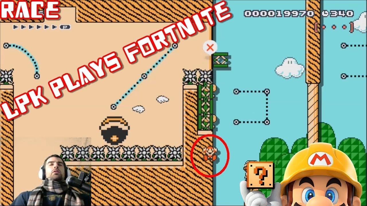 WORST HOMEWORK ADVICE | Super Mario Maker: LPK Plays Fortnite - YouTube