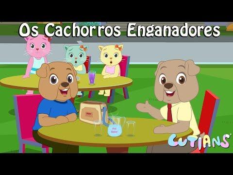 Três Bons Gatinhos versus Os Cachorros Enganadores | Cutians | ChuChu TV