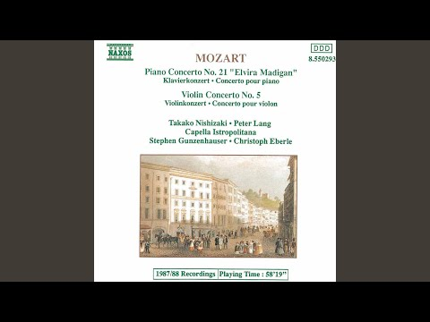 Violin Concerto No. 5 in A Major, K. 219,