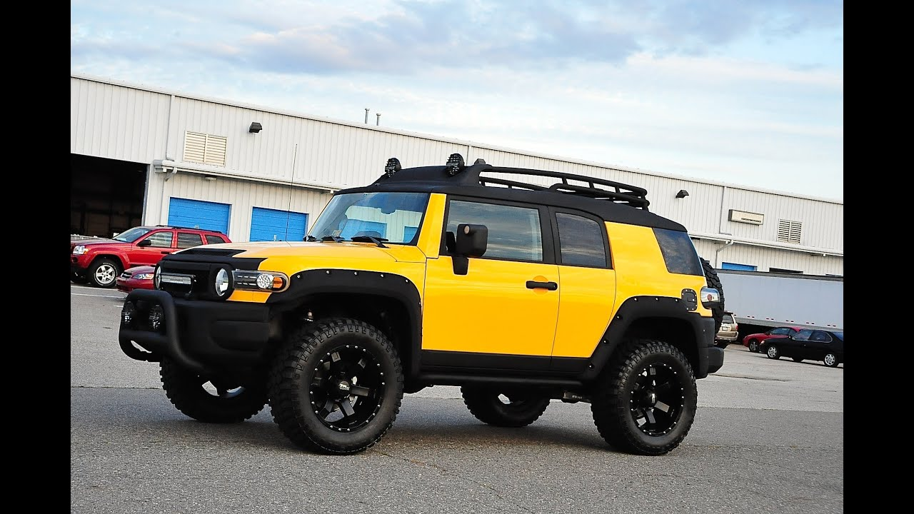 Davis Autosports Toyota Fj Cruiser Lifted Icon Built
