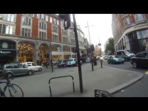 Kawasaki Z800 - Ride through Kensington to North west London