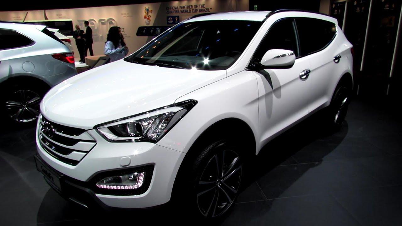 2014 Hyundai Santa Fe CRDi Diesel   Exterior And Interior Walkaround   2013  Frankfurt Motor Show   YouTube