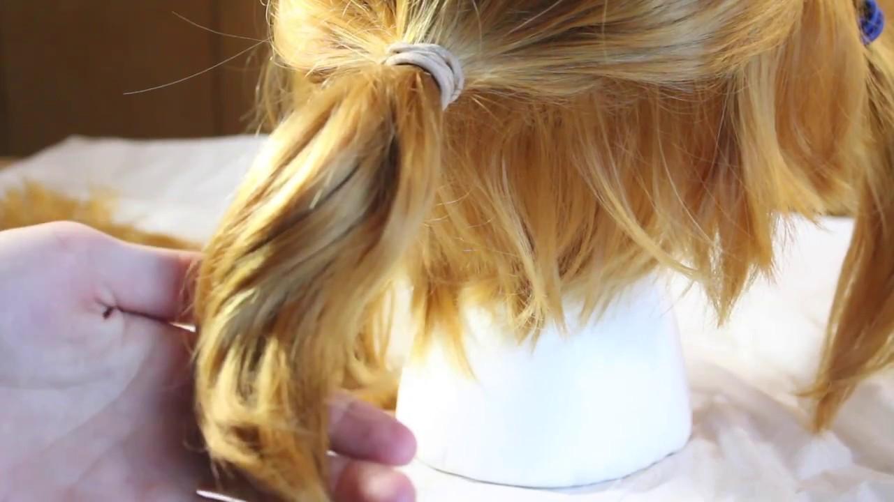 Botw Link Wig Tutorial
