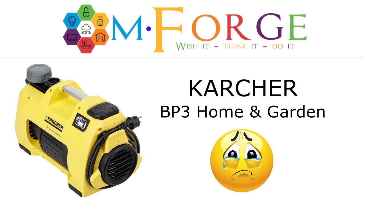 Karcher Bp 3 Home Garden Panne Recurrente Obsolescence Programmee Ou Defaut De Fabrication Youtube