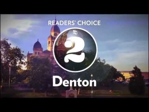 No. 2, Denton, Texas Highways Top 40 Readers' Choice Travel Destinations