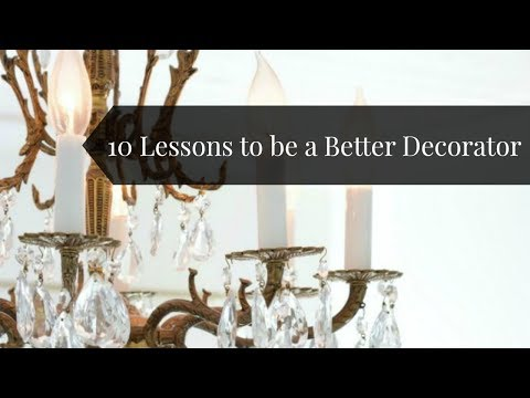 10 Lessons to be a Better Decorator