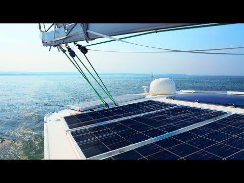 DIY Marine Solar Panel Installation