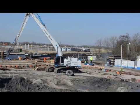 Hitachi ZX 470-3 Longreach excavator, Ballast Nedam