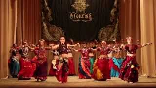 "AmiR, Elara & TS Flourish - The Show of ""Tribal Territory 2"" -  30/11/ 2013"