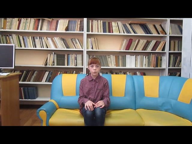 Изображение предпросмотра прочтения – КолпаковаПолина читает отрывок изпроизведения «Зимнее утро» А.С.Пушкина
