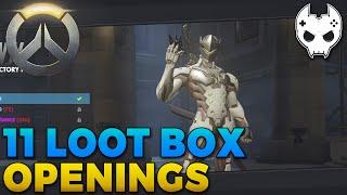 Overwatch Loot Box Opening - GENJI VICTORY POSE - E2 Closed Beta