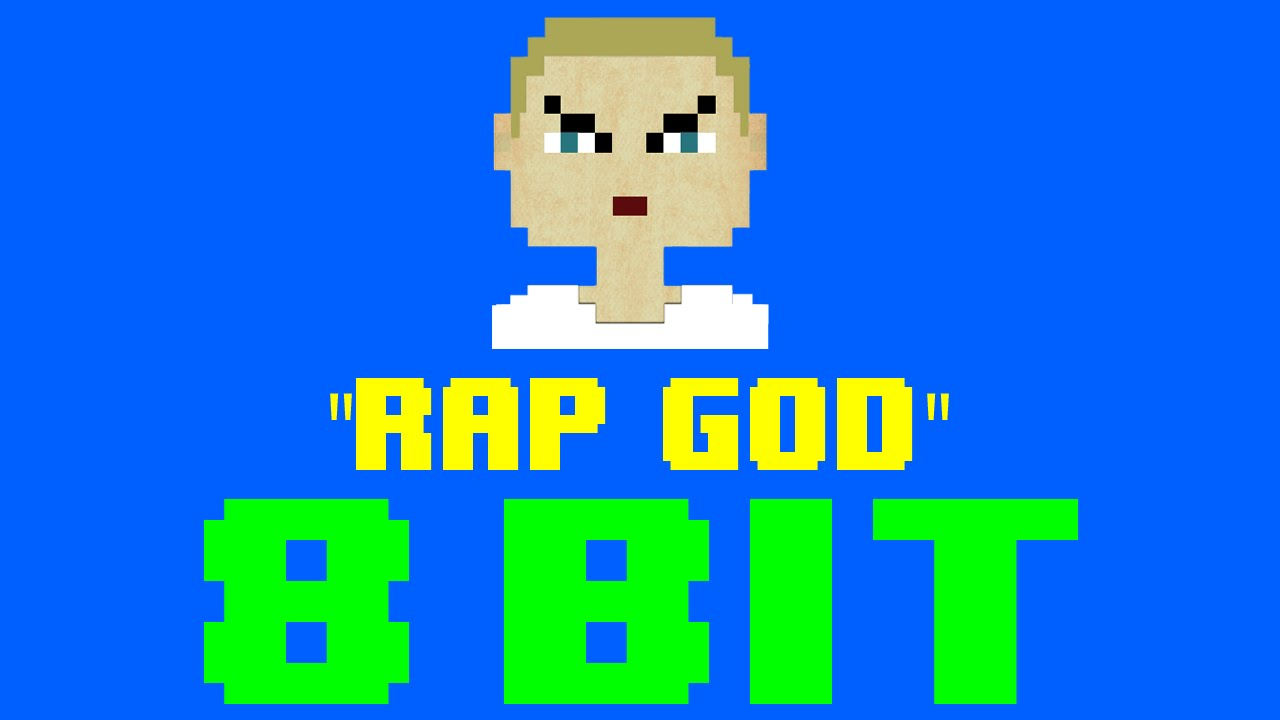 Rap God 8 Bit Remix Cover Version Tribute To Eminem 8 Bit Universe Youtube