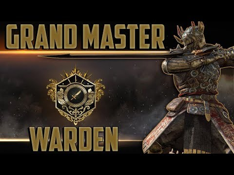 For Honor: Grand Master Warden