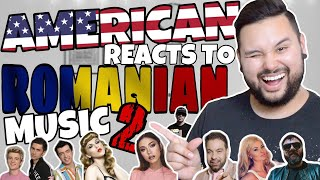 American REACTS // Romanian Music 2