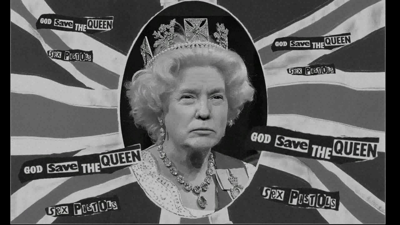 The queen by the sex pistols