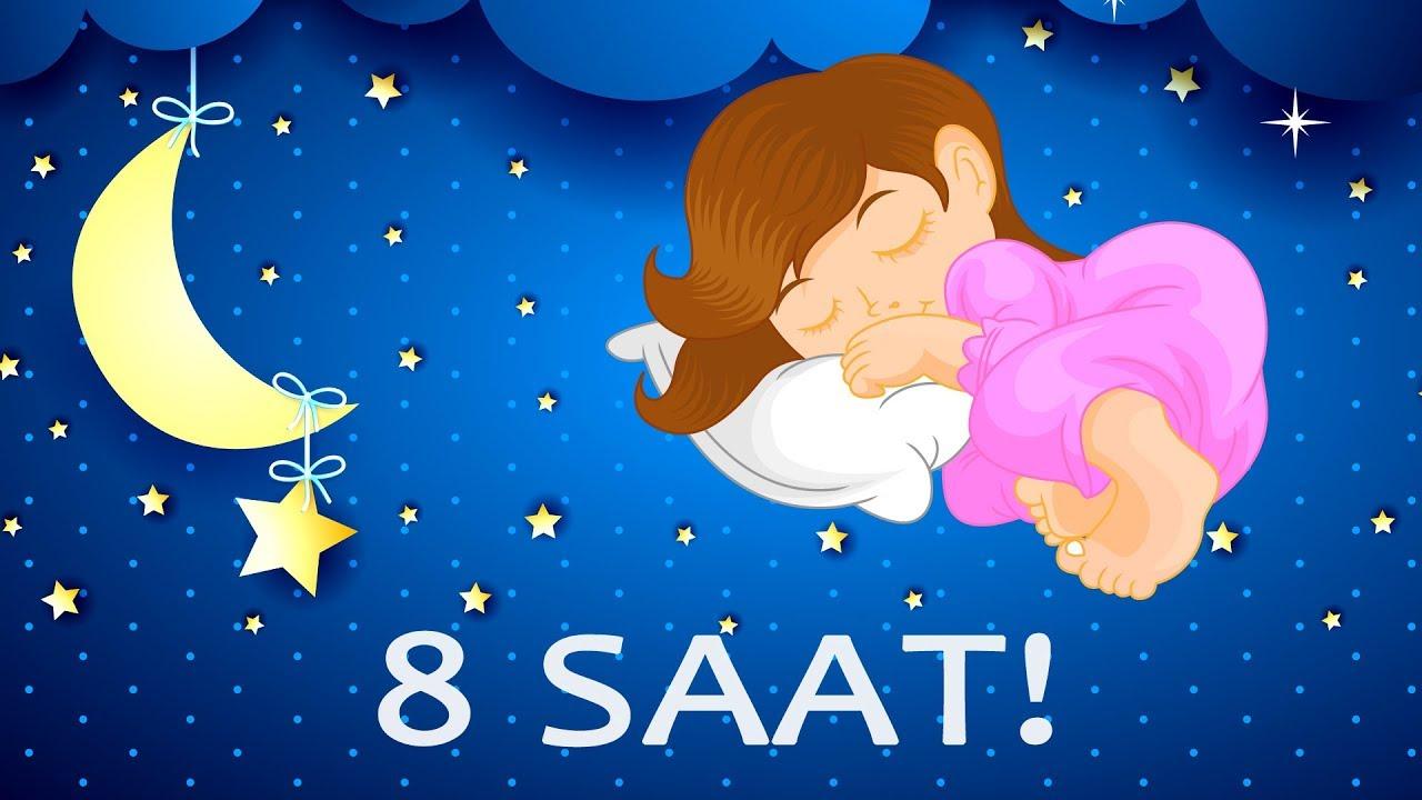 8 Saat Ninni - Dandini Dandini Danalı Bebek - Uyusunda Büyüsün - Lullabies Lullaby