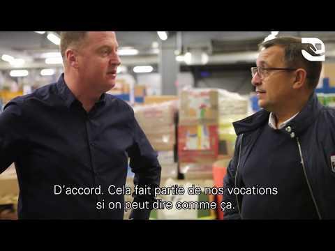 E. Leclerc Drive - Manutention de Bacs en préparation de commandes