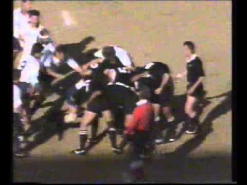 Junior boks vs NZ 1992; first half