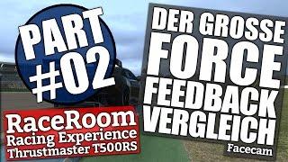SimRacing Force Feedback Check Part#02 - RaceRoom // Das kann ja nur knapp werden ...